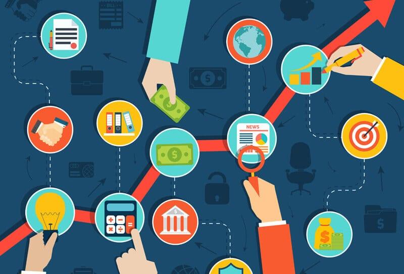 Fluxograma Financeiro contas a pagar e receber
